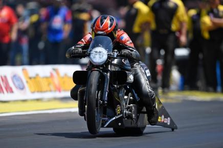 Krawiec, Harley-Davidson leads PSM inAtlanta