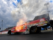 Courtney Force (Photo by Marc Gewertz/NHRA)