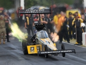 Tony Schumacher (Photo by Marc Gewertz/NHRA)