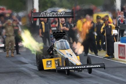 Schumacher leads Top Fuel inAtlanta