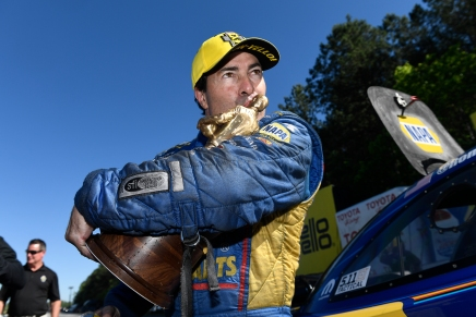 Capps wins his thirdstraight