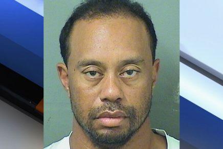 Woods arrested in Jupiter,Fla.