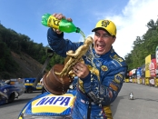 Ron Capps (Photo by Marc Gewertz/NHRA)