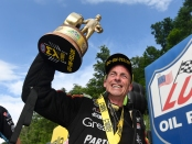 Clay Millican (Photo by Marc Gewertz/NHRA)