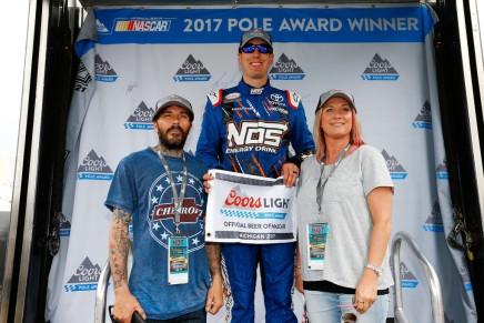 Busch picks up pole atMichigan