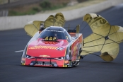 Courtney Force (Photo by the NHRA)
