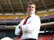 Curt Onalfo as the D.C. United manager (Getty Images)