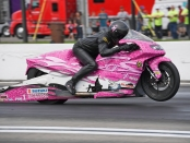 Jerry Savoie (Photo by the NHRA)