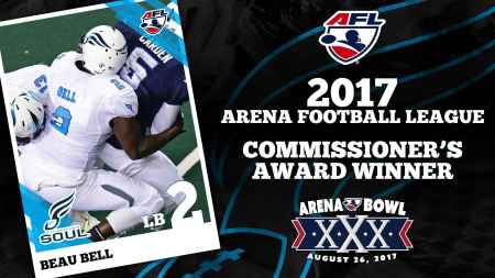 Beau Bell (Photo by the Arena Football League)