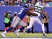 Matt Forte rushing against the New York Giants (Getty Images)