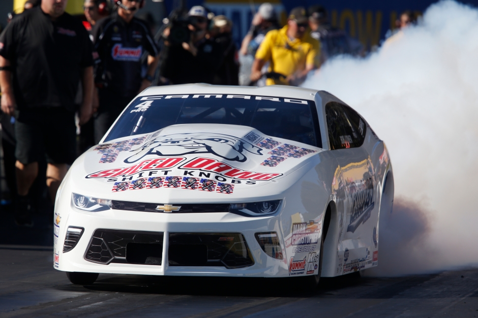 Bo Butner (Photo by the NHRA)