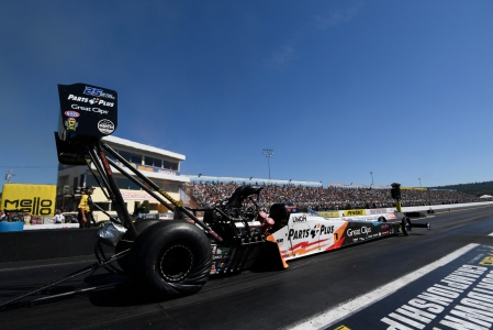 Clay Millican (Photo by the NHRA)