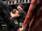 Amanda Nunes after her win over Valentina Shevchenko (Getty Images)