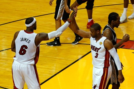 Wade reunites with James in Cleveland