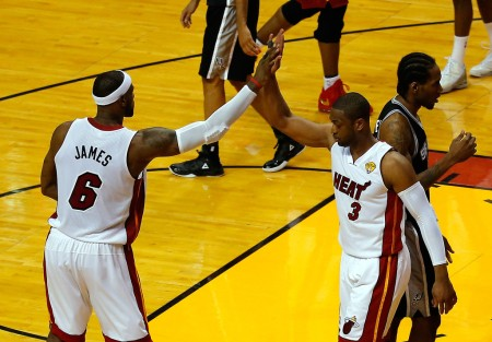 LeBron James and Dwyane Wade (Getty Images)