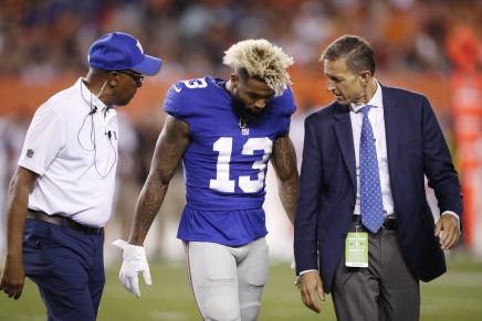 Beckham Jr. expected back on Monday Night Football
