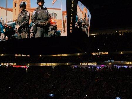 #VegasStrong (Photo by the Vegas Golden Knights)