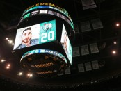 Gordon Hayward's video message to the Boston Celtics crowd (Getty Images)