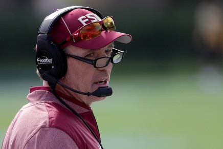 FSU's Jimbo Fisher reportedly had a heated exchange with afan