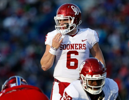 Oklahoma Sooners quarterback Baker Mayfield (Getty Images)