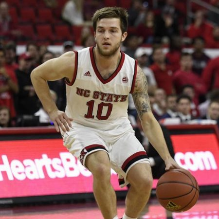 Braxton Beverly (Photo by the North Carolina State Sports Information Department)