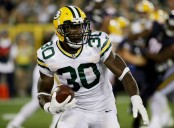 Green Bay running back Jamaal Williams (Getty Images)