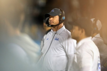 UCLA Bruins head coach Jim Mora Jr. (Getty Images)