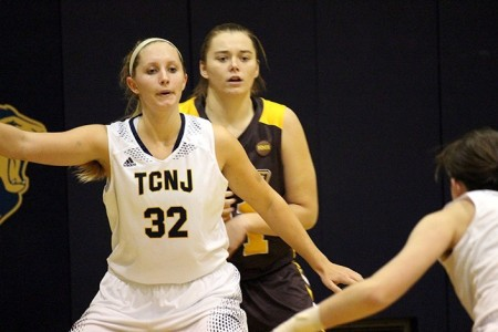 Nikki Schott (Photo by the TCNJ Sports Information Department)