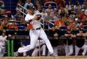 Miami Marlins slugger Giancarlo Stanton (Getty Images)