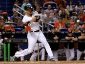 Miami Marlins slugger Giancarlo Stanton (Getty Images)