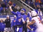 Boise State Broncos quarterbaBoise State Broncos quarterback Brett Rypien (Getty Images)ck Brett Rypien (Getty Images)