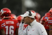 SMU Mustangs head coach Chad Morris (Getty Images)