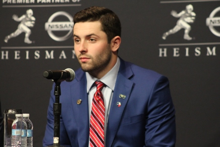 Mayfield wins the Heisman Trophy