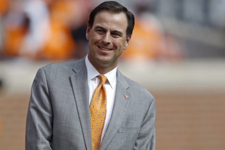 Embattled Tennessee Volunteers athletic director John Currie (Photo by Wade Payne/Associated Press)