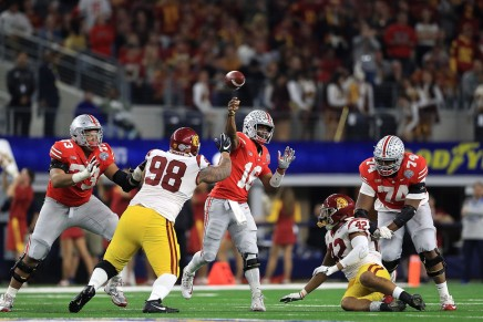 Buckeyes roll over Trojans in Cotton BowlClassic