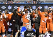 Clemson Tigers quarterback Kelly Bryant, who was named the MVP of the game (Getty Images)