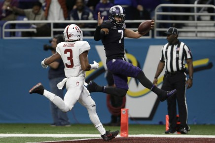 No. 15 TCU upsets No.13 Stanford in Valero AlamoBowl