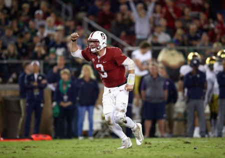 Stanford Cardinal quarterback K.J. Costello (Getty Images)