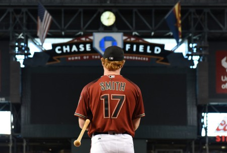 Arizona Diamondbacks 2017 first-round pick Pavin Smith (Getty Images)