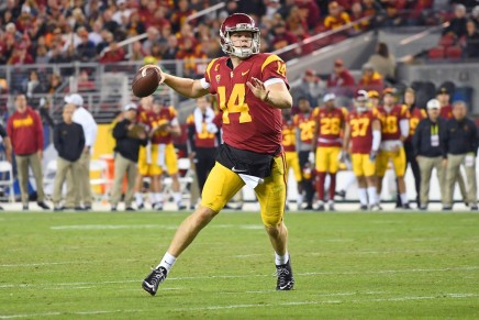 USC caputres the first South Division Pac-12Championship