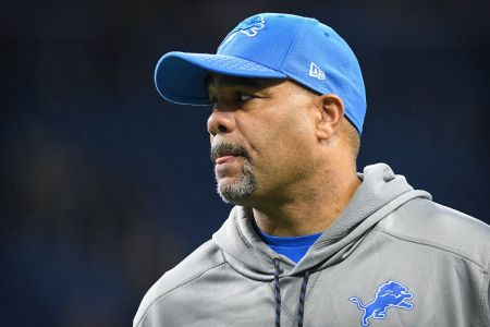 Teryl Austin is seen here as the Detroit Lions defensive coordinator (Getty Images)