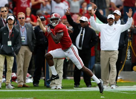 Alabama Crimson Tide wide receiver Calvin Ridley (Getty Images)
