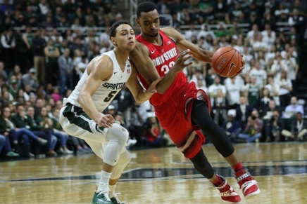 Buckeyes defeat No. 1 Spartans
