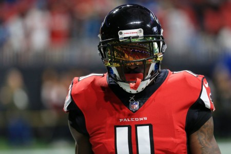 Atlanta Falcons wide receiver Julio Jones (Getty Images)