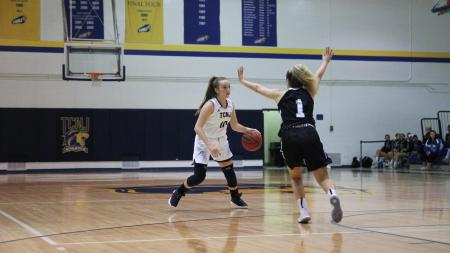 TCNJ guard Kate O'Leary (Photo by TCNJ Sports Information Department)