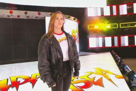 Rousey appears at the Royal Rumble