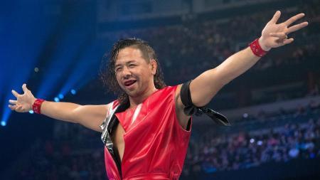 Shinsuke Nakamura (Photo by the WWE)