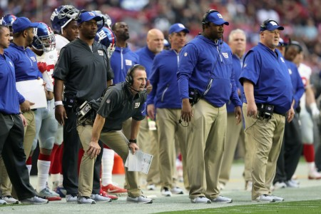 The New York Giants coaching staff (Getty Images)
