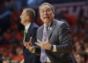 Michigan State men's basketball coach Tom Izzo (Getty Images)