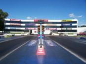 Old Bridge Township Raceway Park starting line